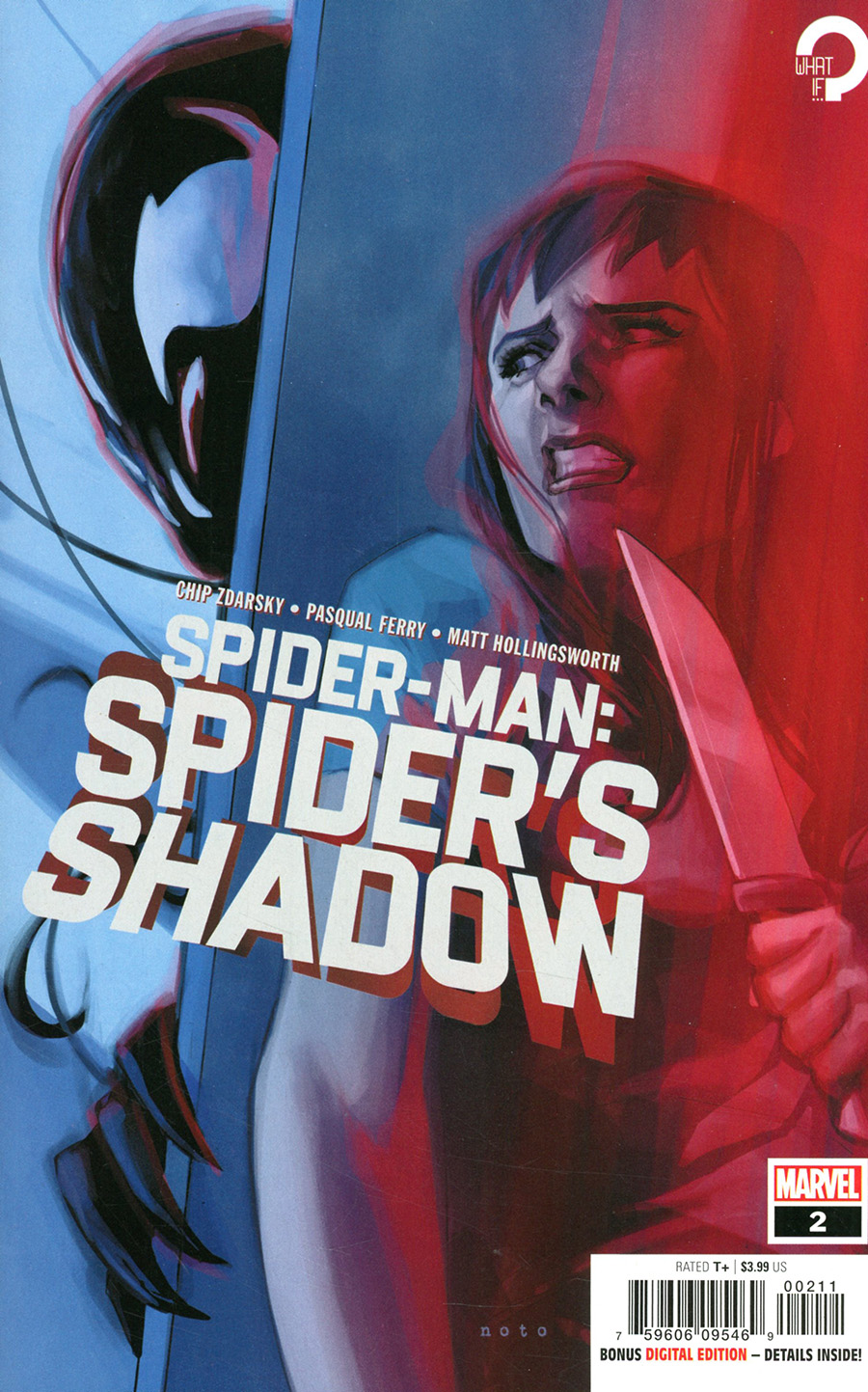 Spider-Man Spiders Shadow #2 Cover A Regular Phil Noto Cover (Limit 1 Per Customer)