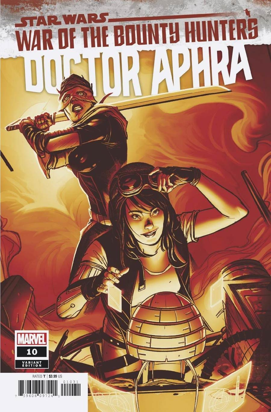 Star Wars Doctor Aphra Vol 2 #10 Cover B Variant Sway Crimson Cover (War Of The Bounty Hunters Prelude)