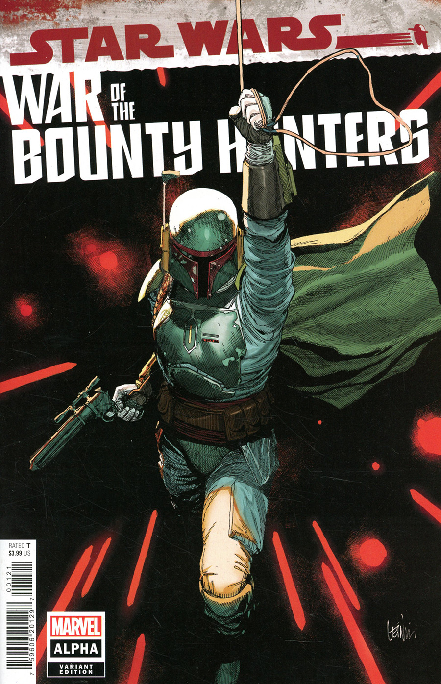 Star Wars War Of The Bounty Hunters Alpha #1 (One Shot) Cover B Variant Leinil Francis Yu Cover (Limit 1 Per Customer)