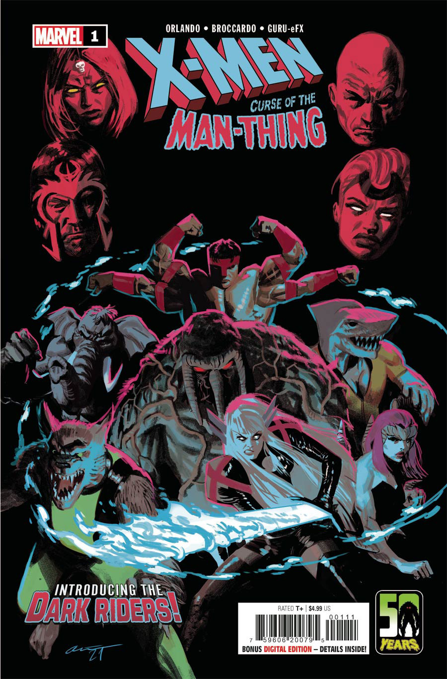X-Men Curse Of The Man-Thing #1 (One Shot) Cover A Regular Daniel Acuna Cover