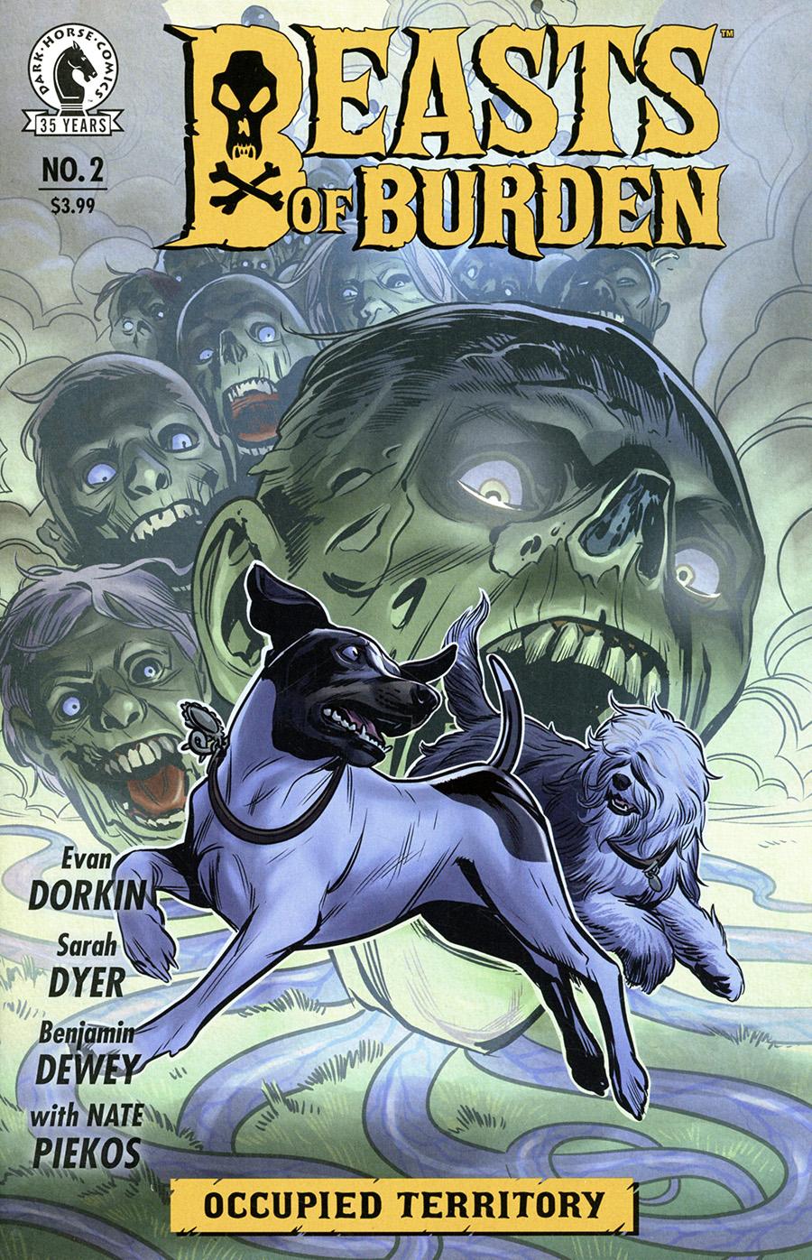 Beasts Of Burden Occupied Territory #2 Cover A Regular Benjamin Dewey Cover