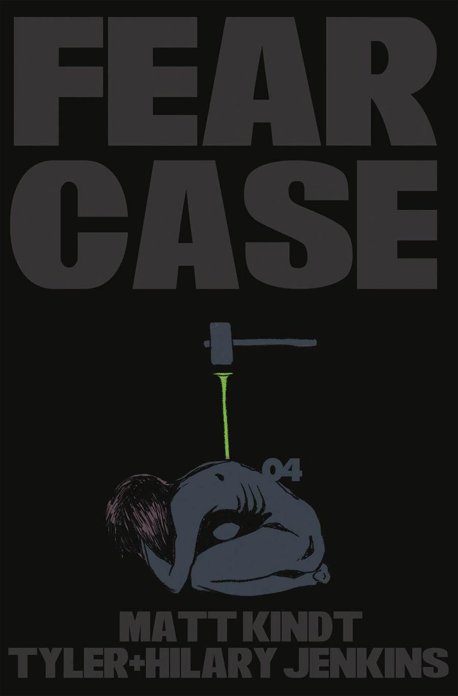 Fear Case #4 Cover A Regular Tyler Jenkins Cover