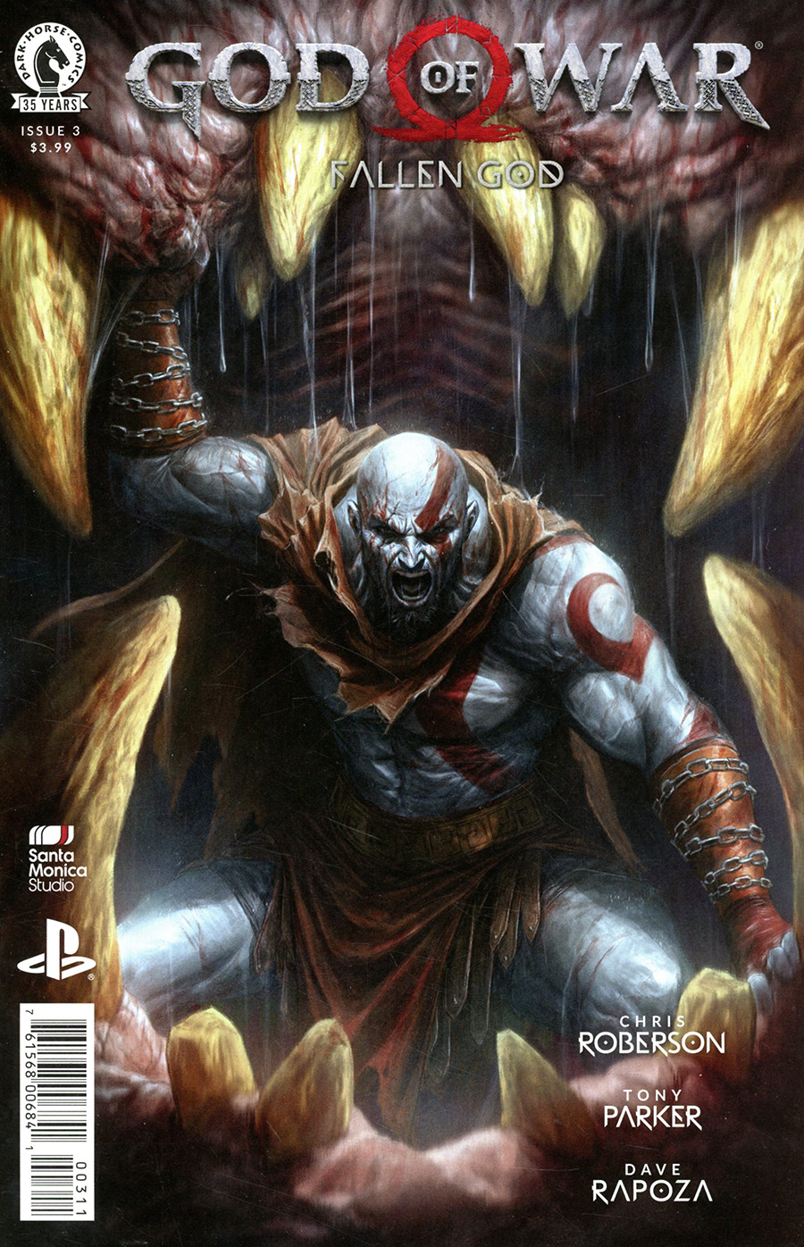 God Of War Fallen God #3