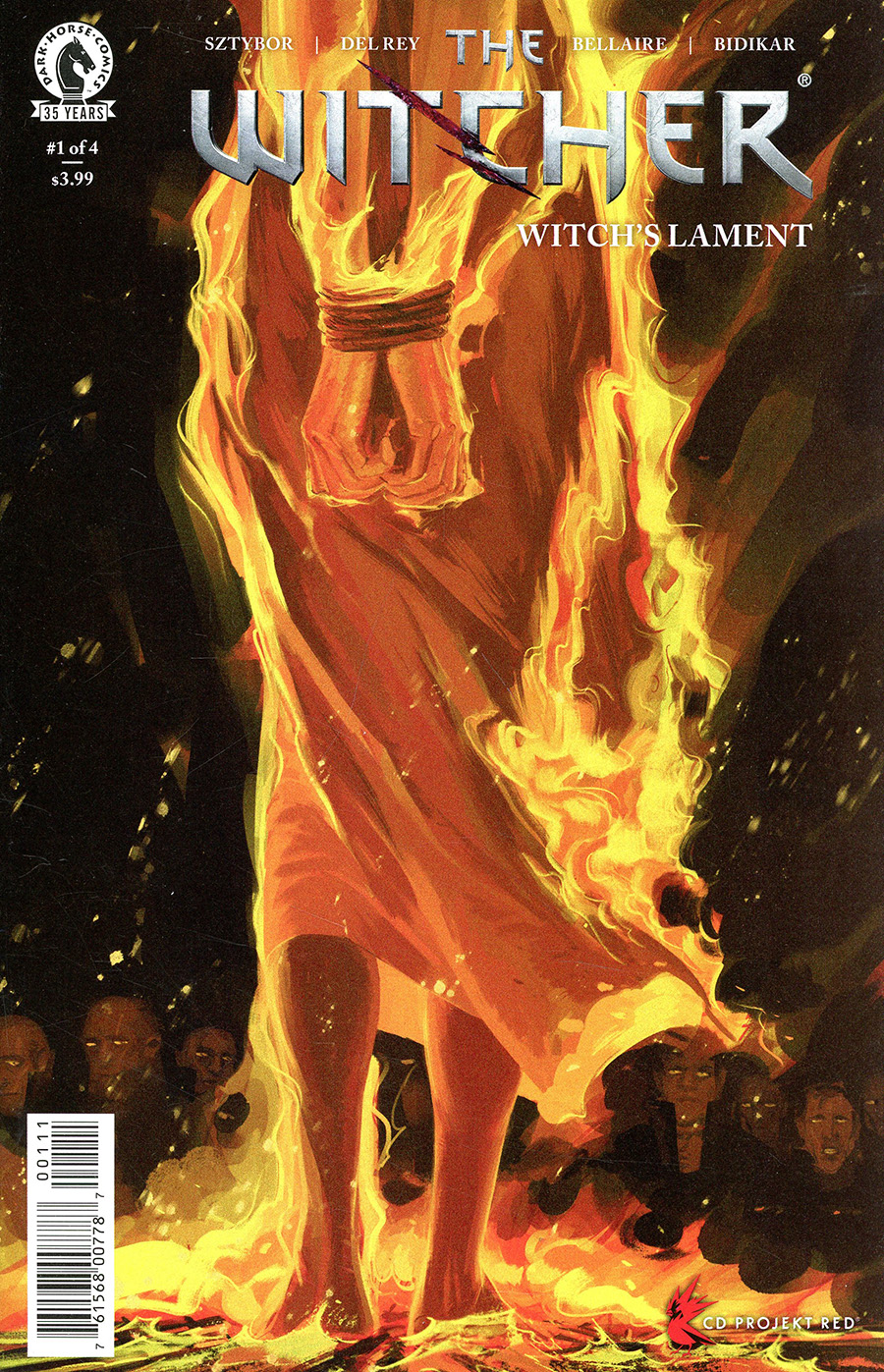 Witcher Witchs Lament #1 Cover A Regular Vanesa Del Rey Cover