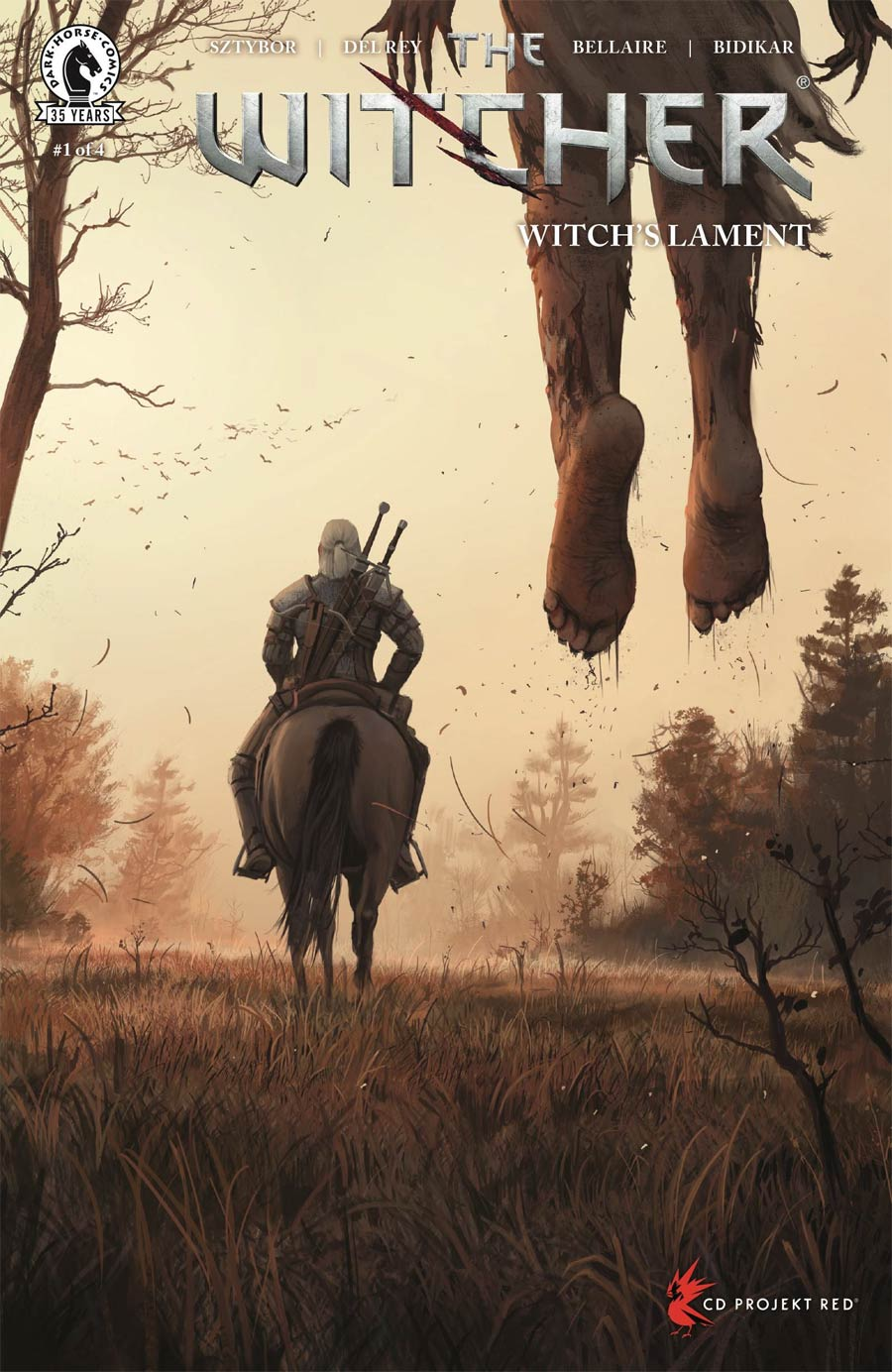 Witcher Witchs Lament #1 Cover C Variant Stefan Koidl Cover