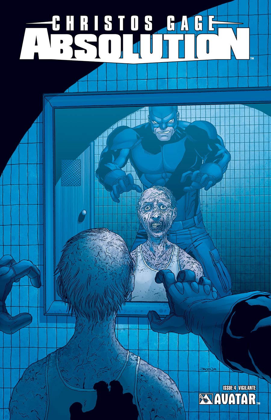 Absolution #4 Vigilante Cover (Sale Edition)