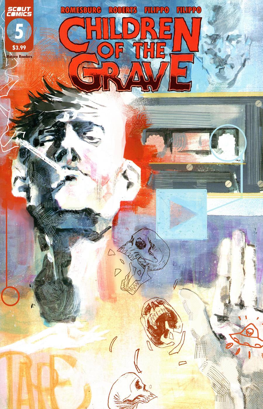 Children Of The Grave (Scout Comics) #5