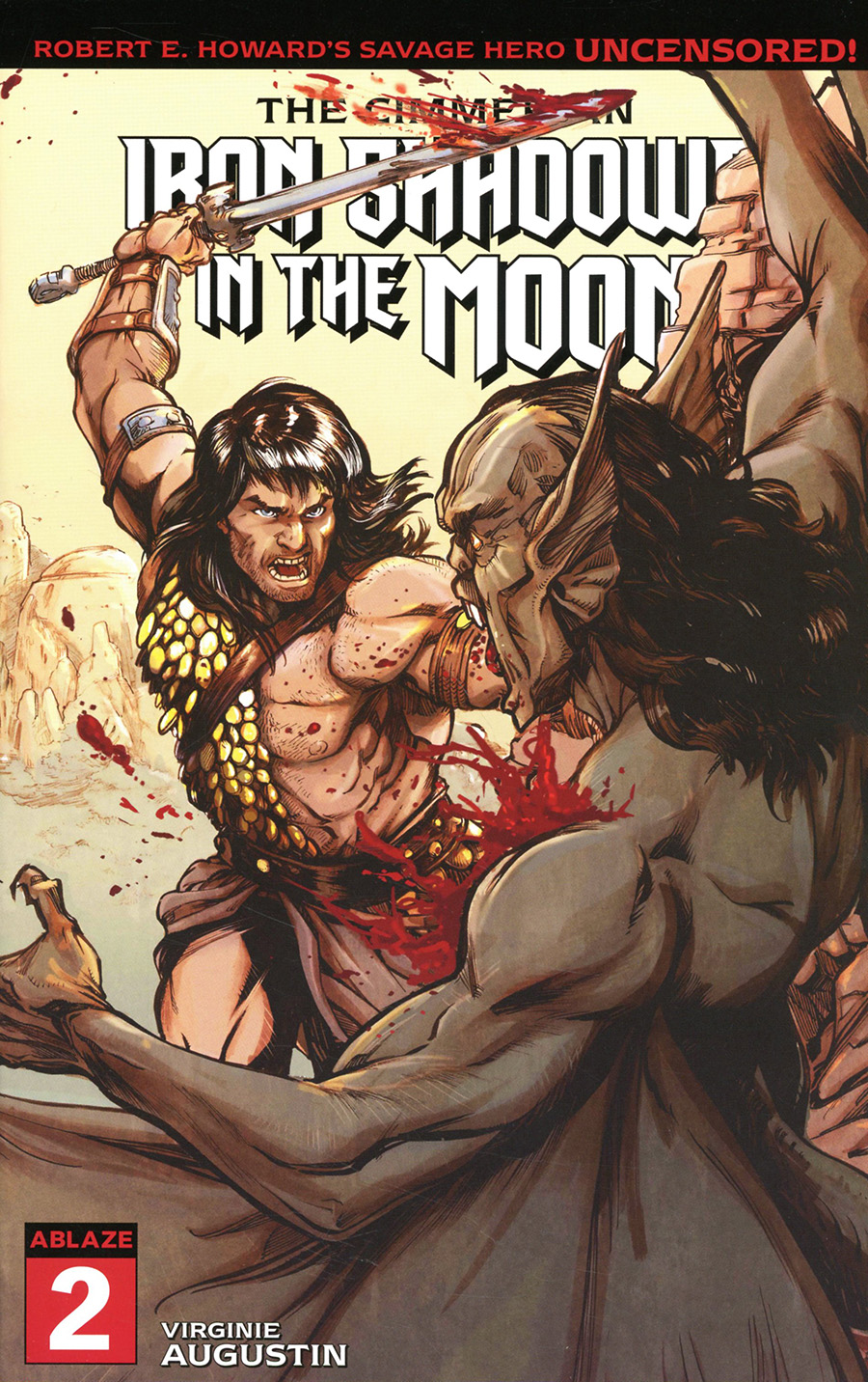 Cimmerian Iron Shadows In The Moon #2 Cover C Variant Mateo Guerrero Cover