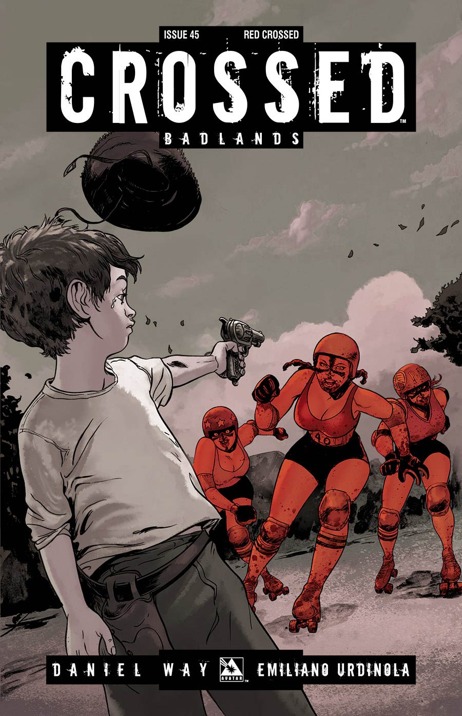 Crossed Badlands #45 Red Crossed Cover (Sale Edition)