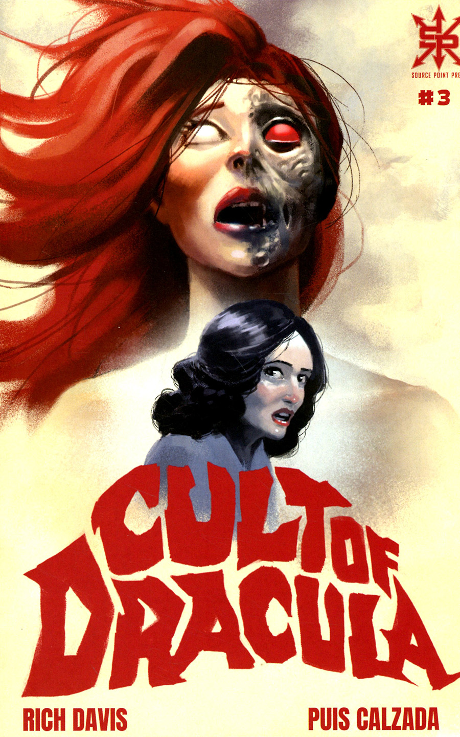 Cult Of Dracula #3 Cover A Regular Gyula Nemeth Cover (Limit 1 Per Customer)