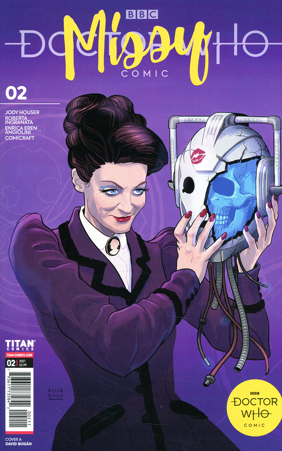 Doctor Who Missy #2 Cover A Regular David Buisan Cover