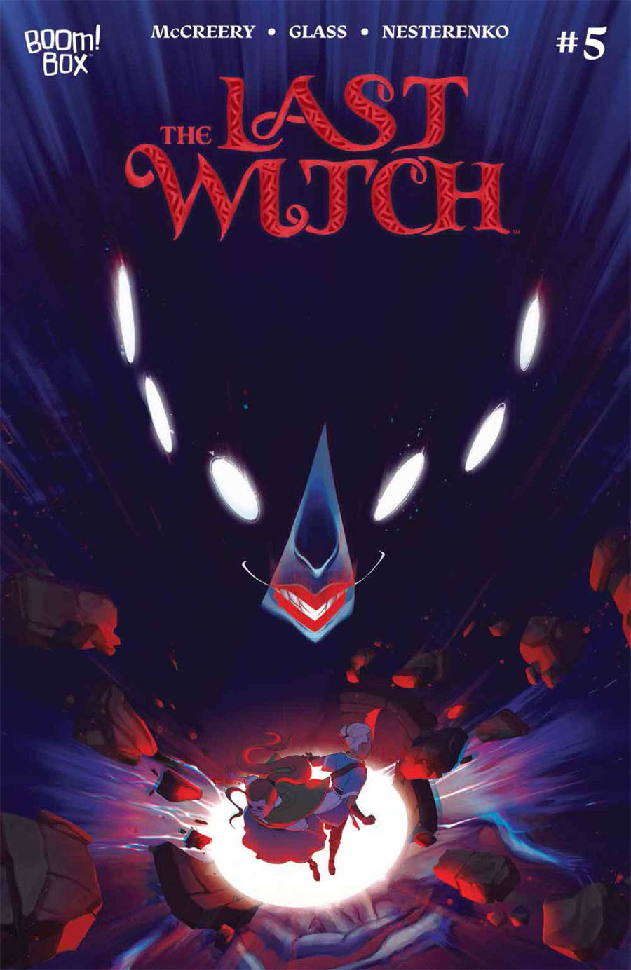 Last Witch #5 Cover A Regular VV Glass Cover