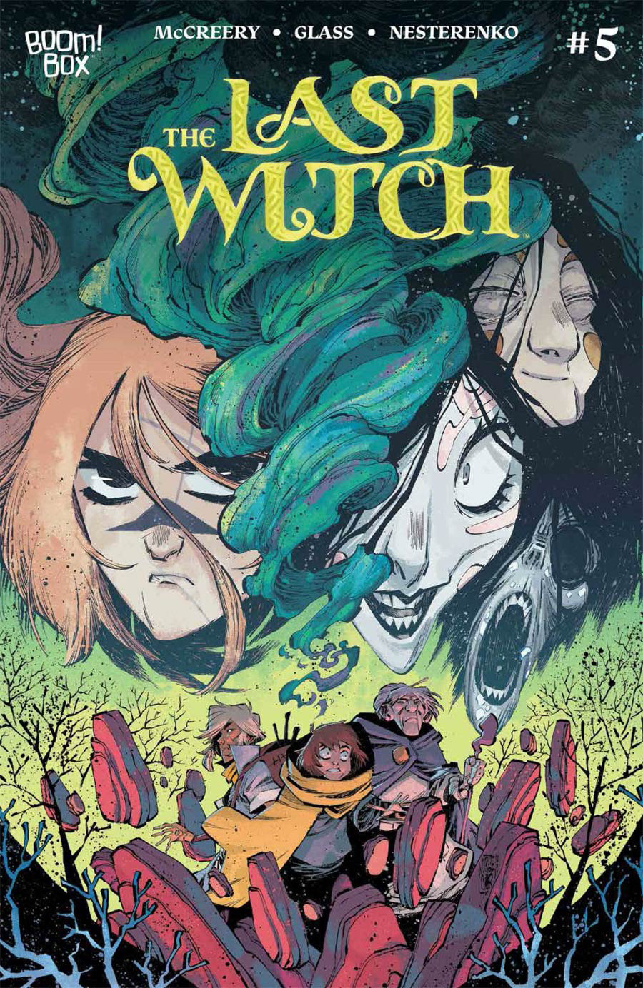 Last Witch #5 Cover B Variant Jorge Corona Cover