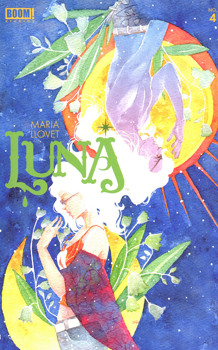Luna #4 Cover B Variant Ariela Kristantina Cover