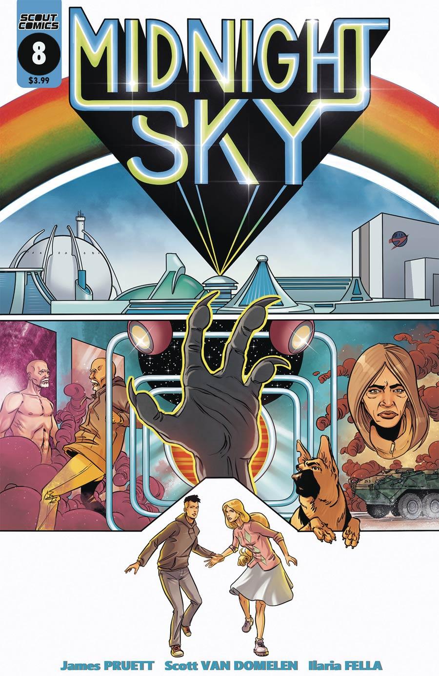Midnight Sky #8 Cover B Variant Scott Van Domelen Logans Run Homage Cover