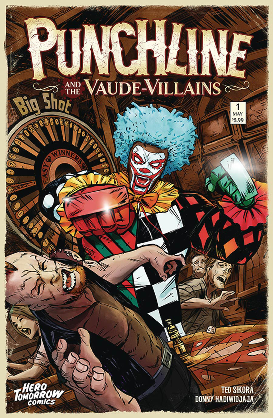 Punchline And The Vaude-Villains #1 Cover A Regular Donny Hadiwidjaja Cover