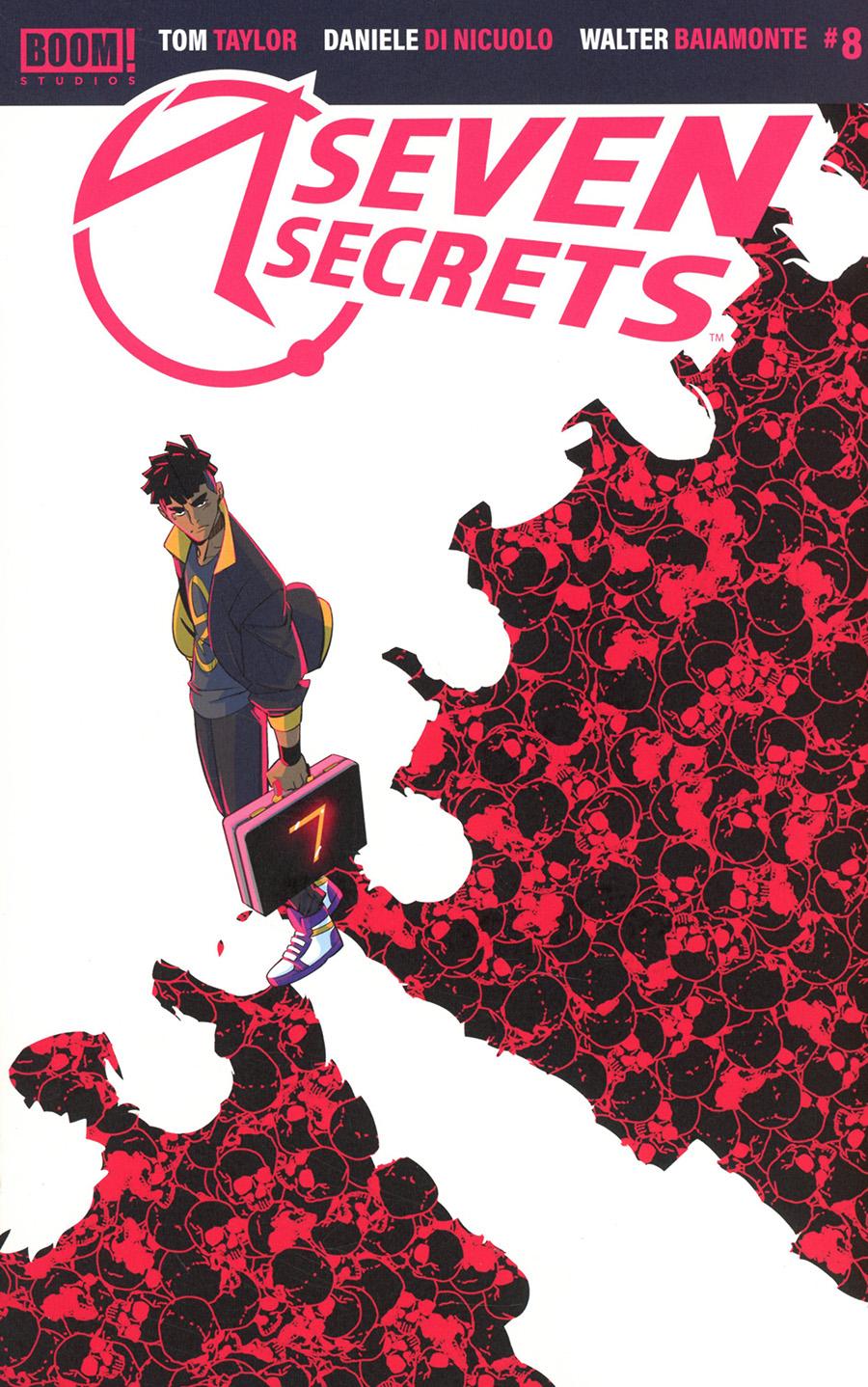 Seven Secrets #8 Cover A Regular Daniele di Nicuolo Cover