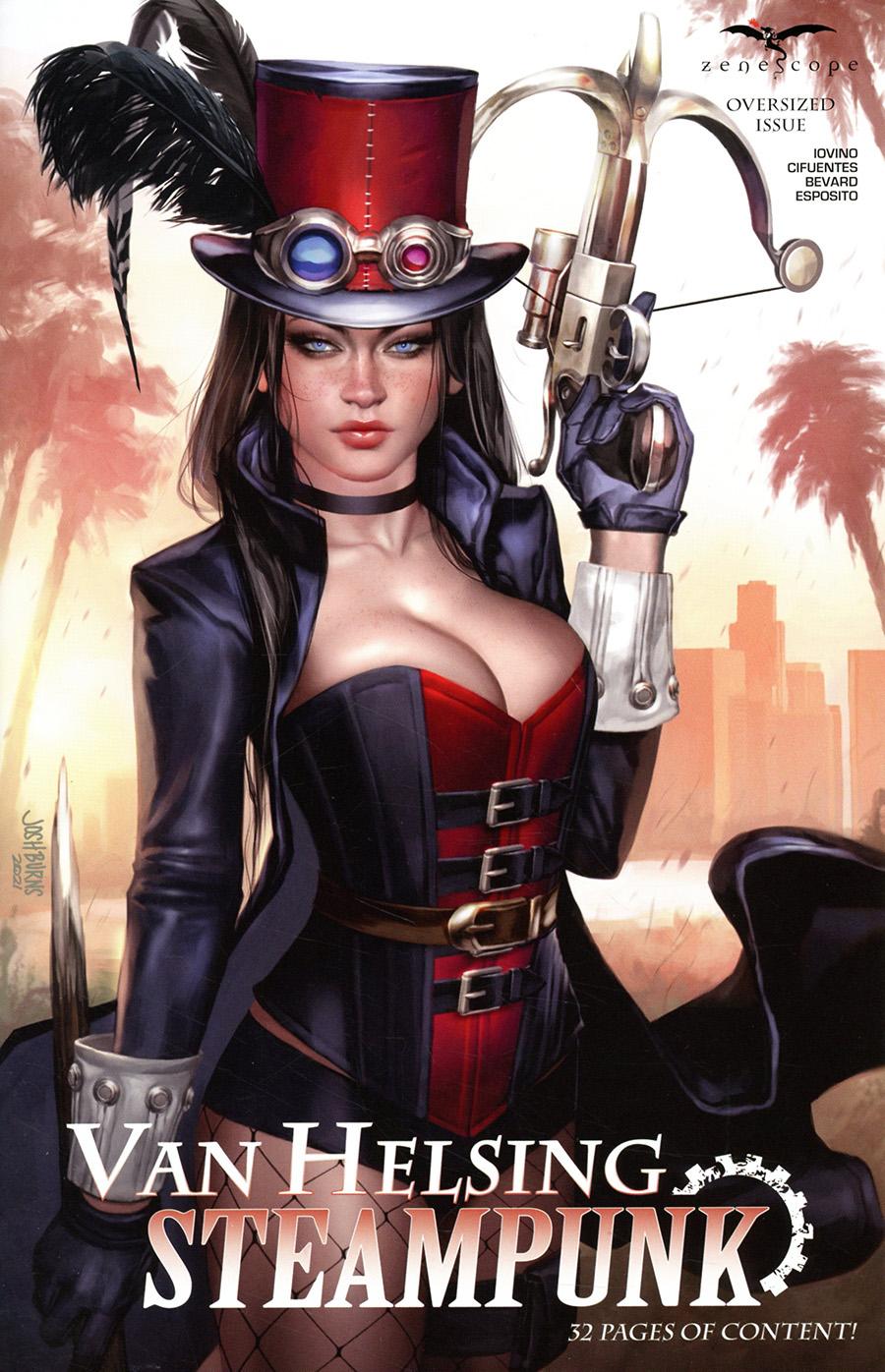 Grimm Fairy Tales Presents Van Helsing Steampunk #1 (One Shot) Cover C Josh Burns