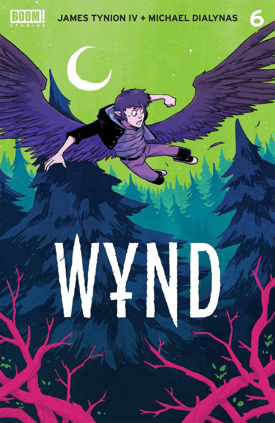Wynd #6 Cover A Regular Michael Dialynas Cover