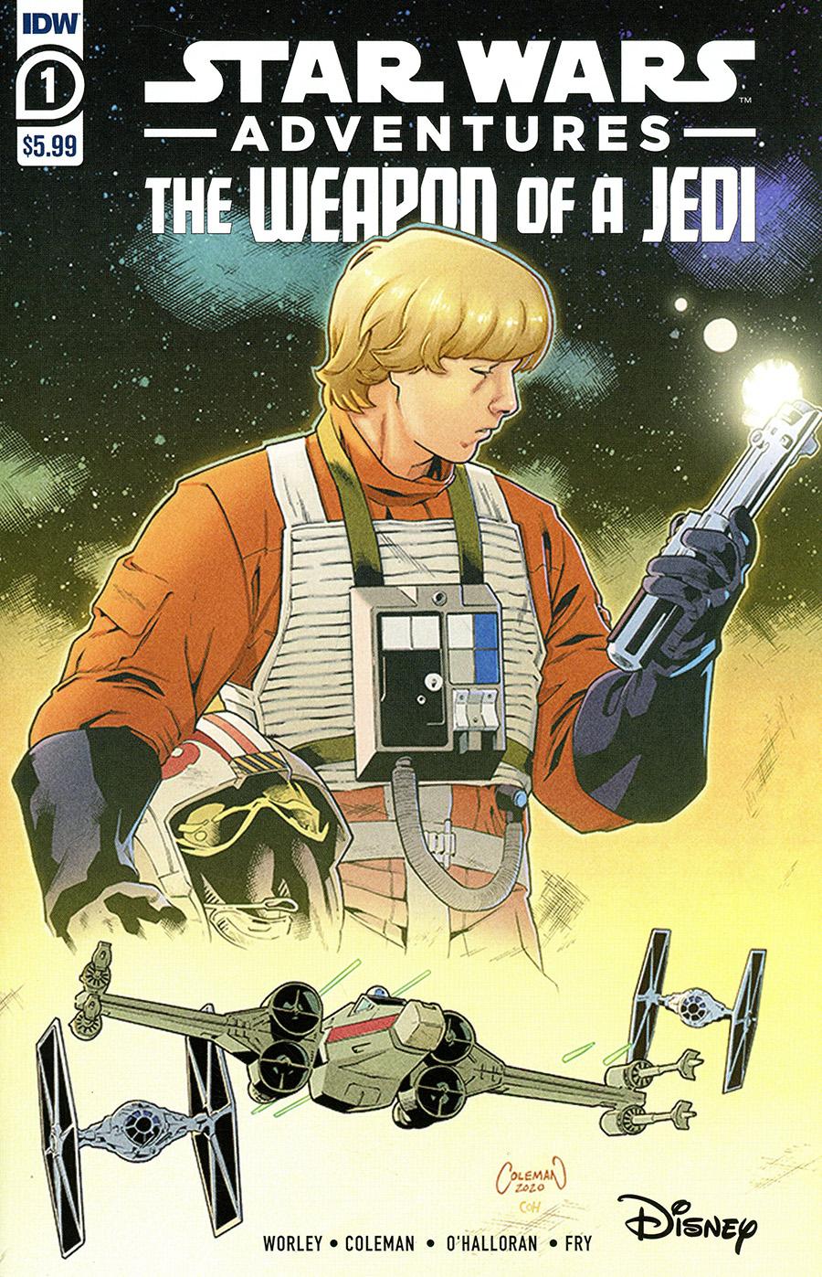 Star Wars Adventures Weapon Of A Jedi #1