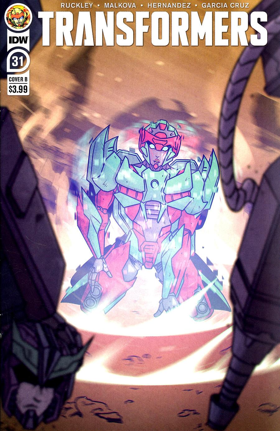 Transformers Vol 4 #31 Cover B Variant Chris Panda Cover