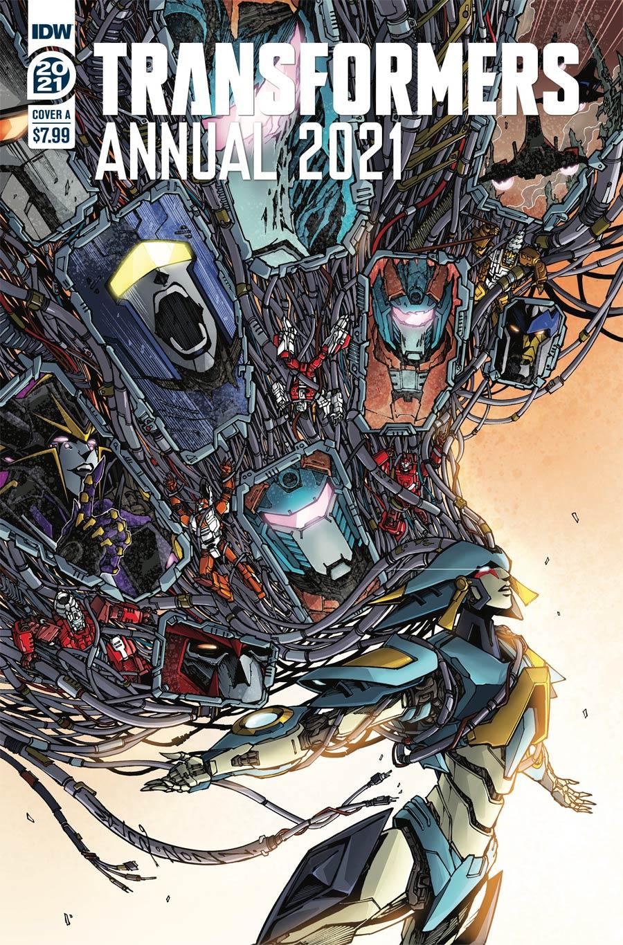 Transformers Vol 4 Annual 2021 Cover A Regular Alex Milne Cover
