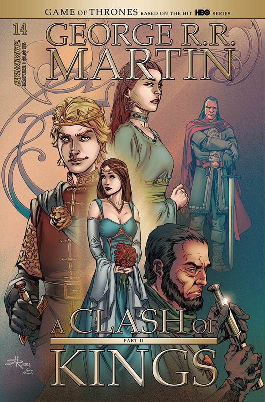 Game Of Thrones Clash Of Kings Vol 2 #14 Cover B Variant Mel Rubi Cover