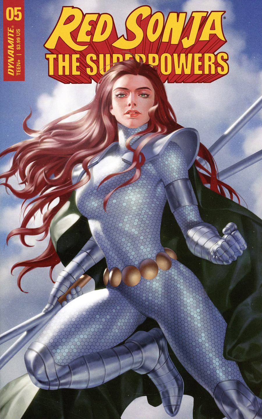 Red Sonja The Superpowers #5 Cover B Variant Junggeun Yoon Cover