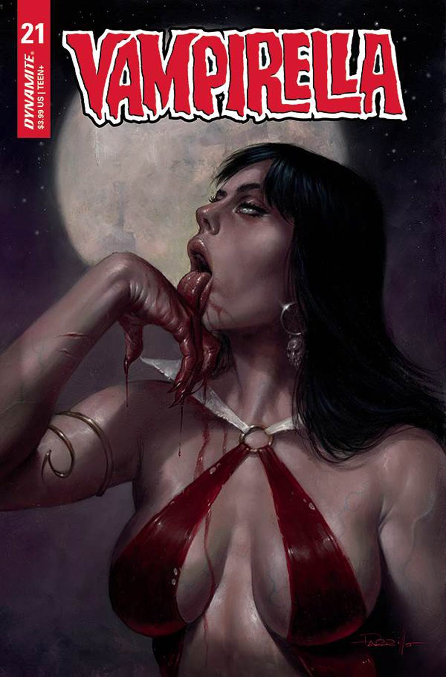 Vampirella Vol 8 #21 Cover A Regular Lucio Parrillo Cover