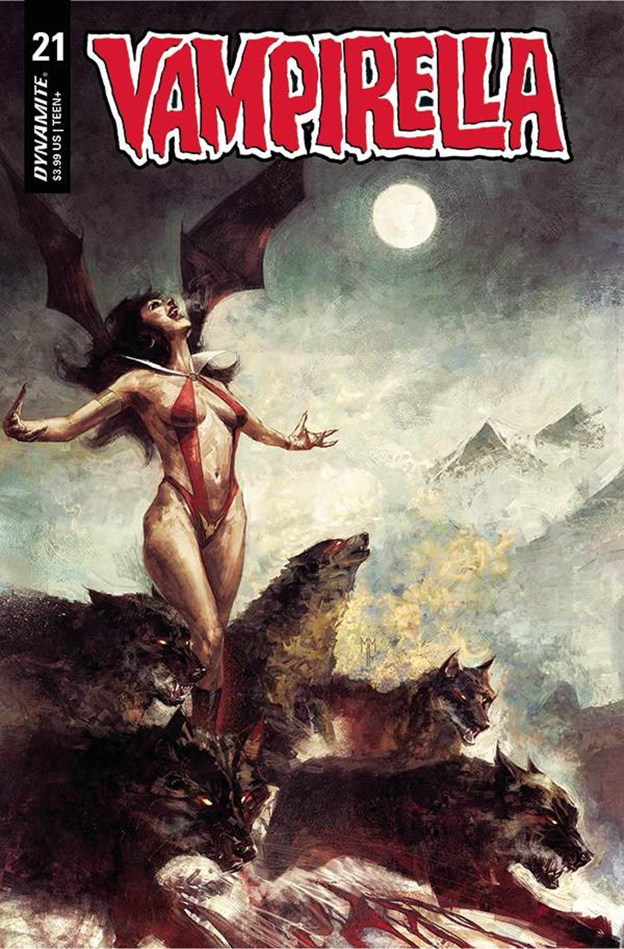 Vampirella Vol 8 #21 Cover B Variant Marco Mastrazzo Cover