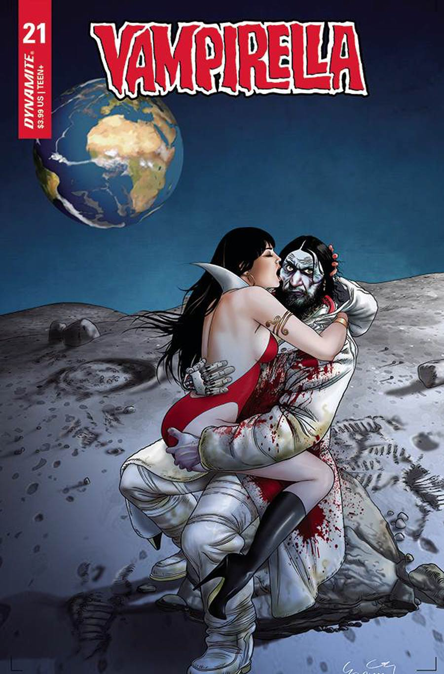 Vampirella Vol 8 #21 Cover D Variant Ergun Gunduz Cover