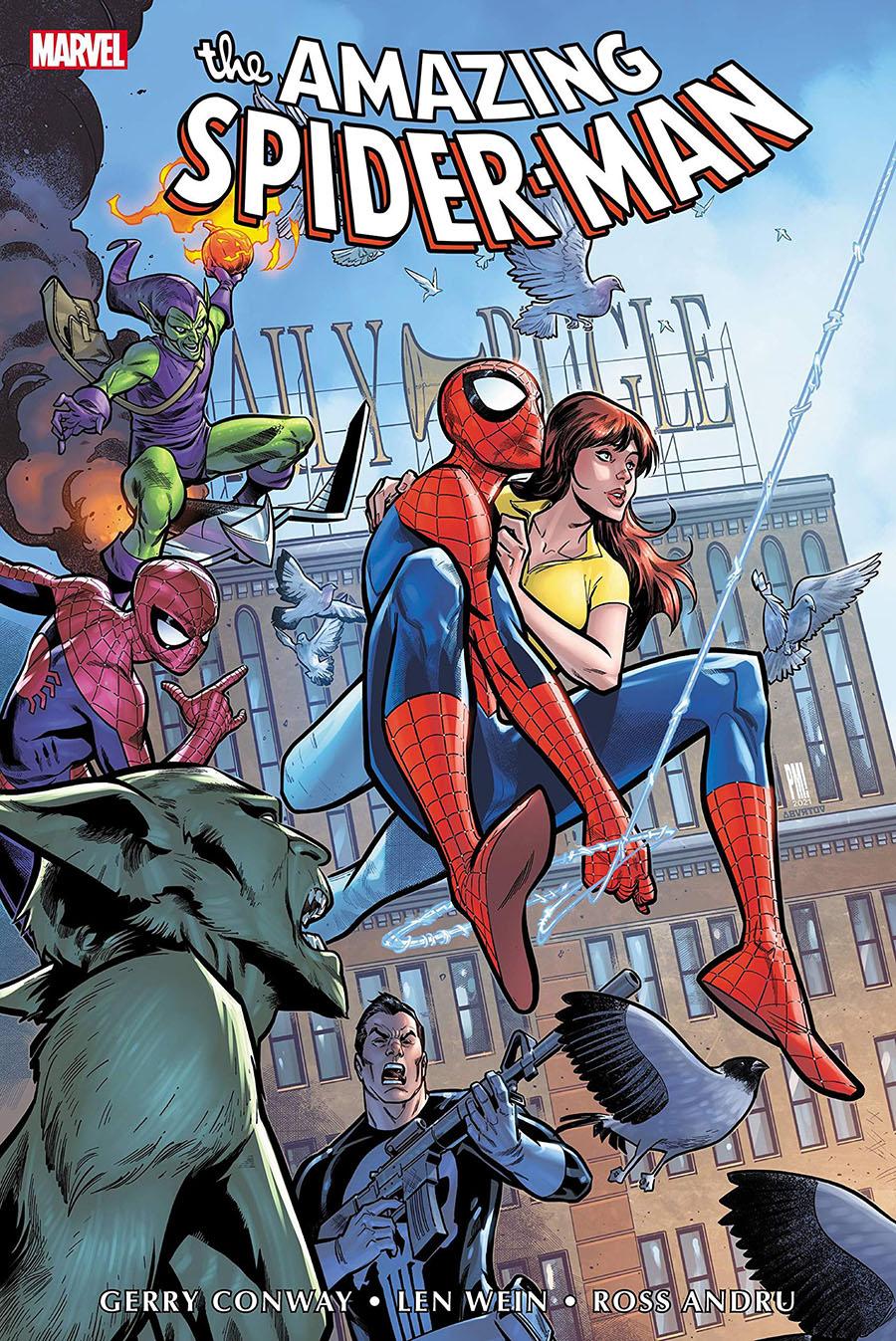 Amazing Spider-Man Omnibus Vol 5 HC Book Market Paco Medina Cover