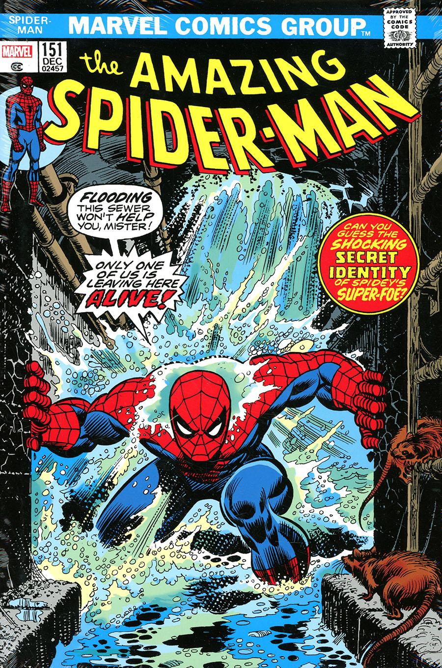 Amazing Spider-Man Omnibus Vol 5 HC Direct Market Gil Kane Variant Cover
