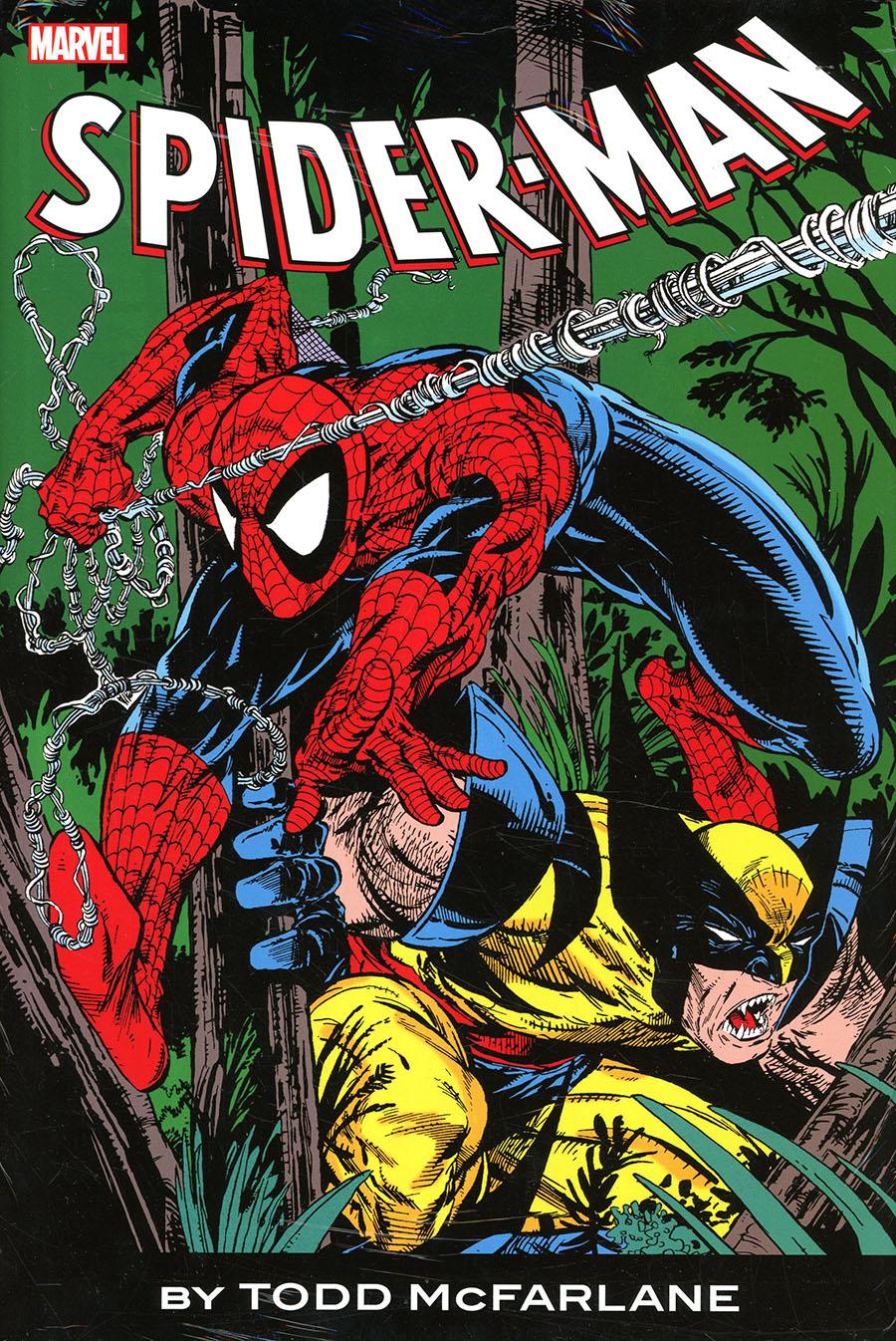 Spider-Man By Todd McFarlane Omnibus HC Direct Market Todd McFarlane Wolverine Variant Cover New Printing