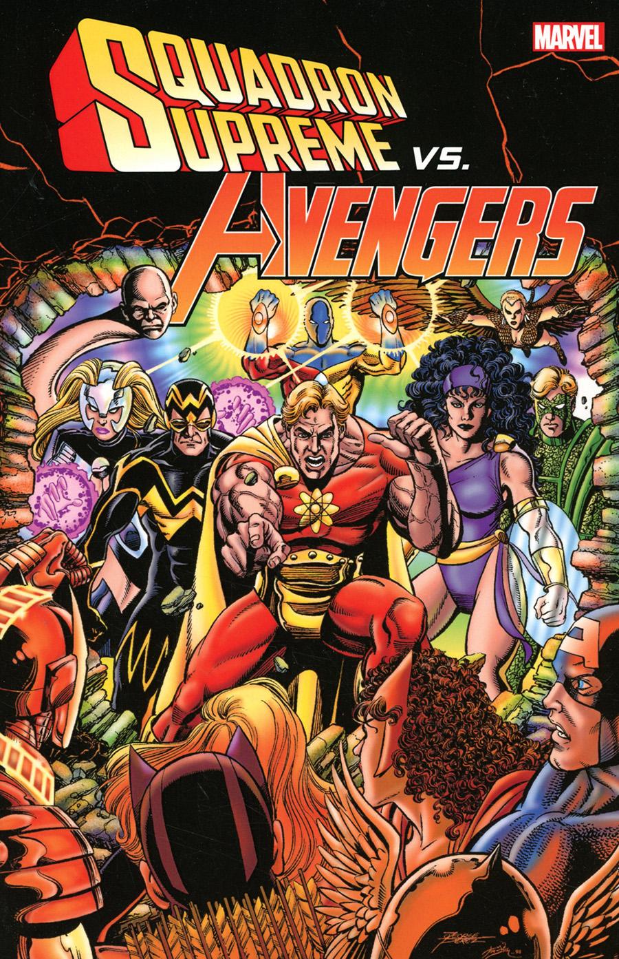 Squadron Supreme vs Avengers TP