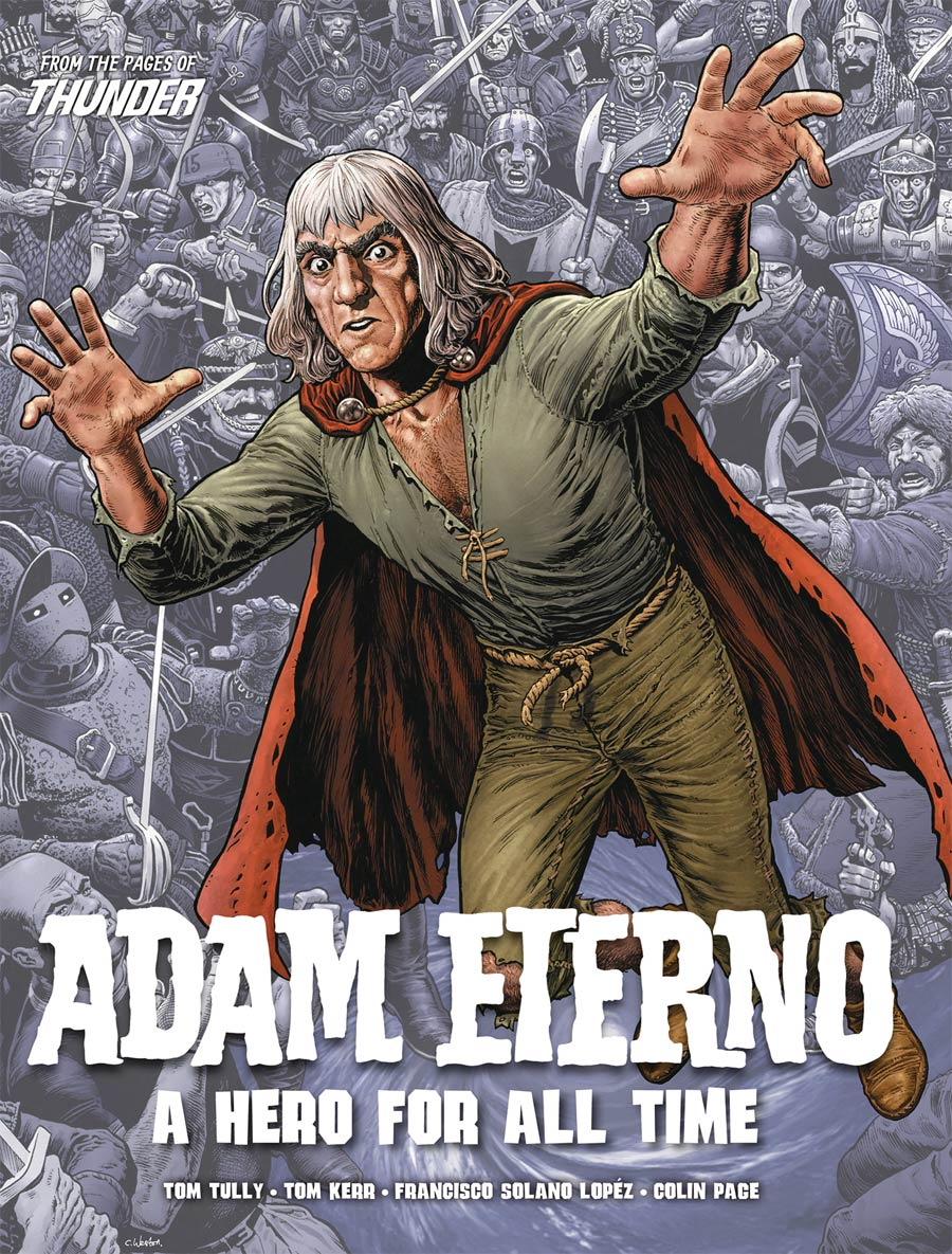 Adam Eterno A Hero For All Time TP