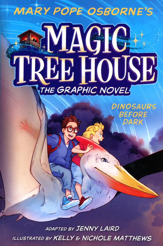 Magic Tree House The Graphic Novel Vol 1 Dinosaurs Before Dark TP