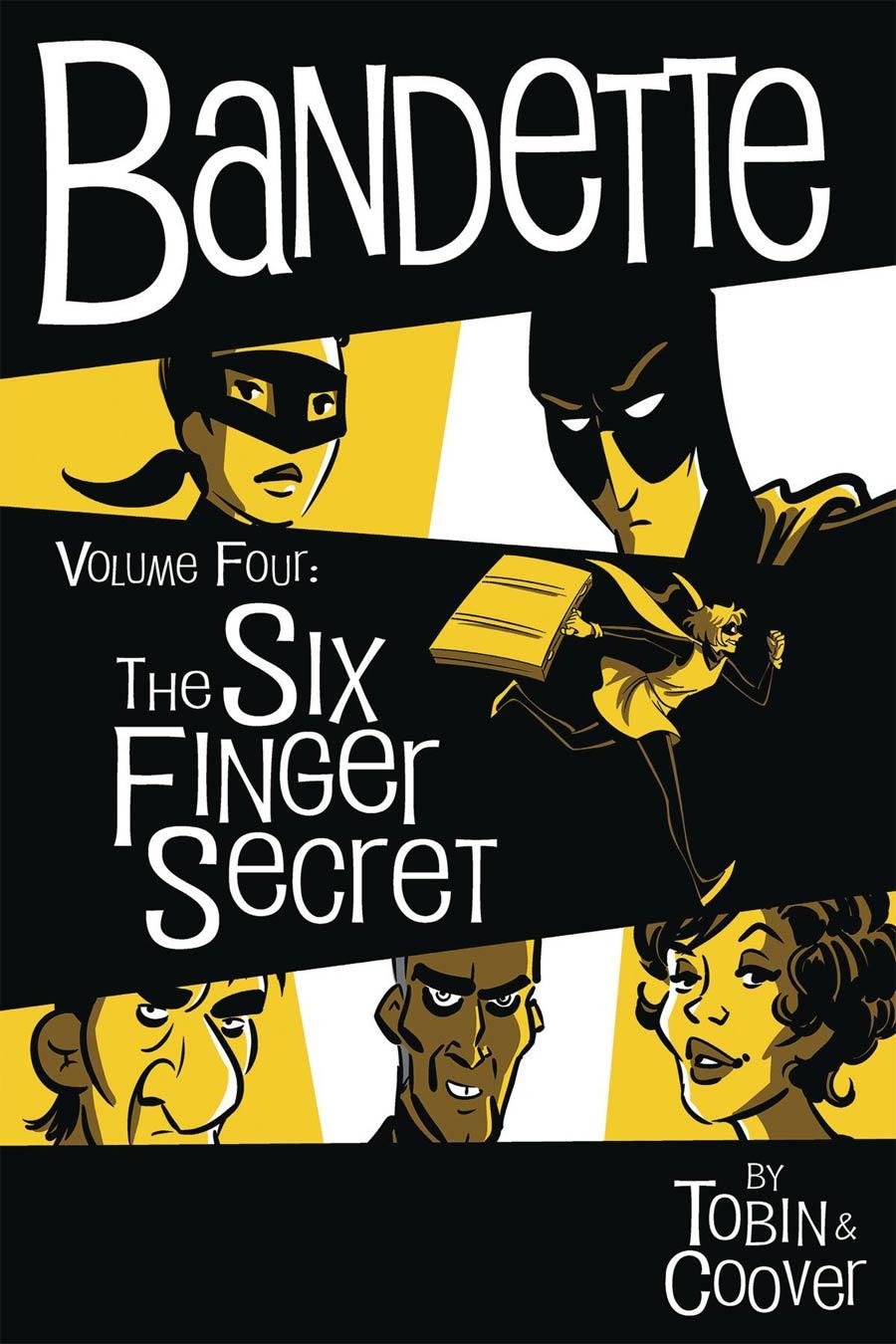 Bandette Vol 4 Six Finger Secret HC