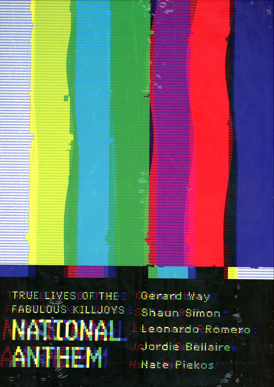 True Lives Of The Fabulous Killjoys National Anthem Deluxe Edition HC