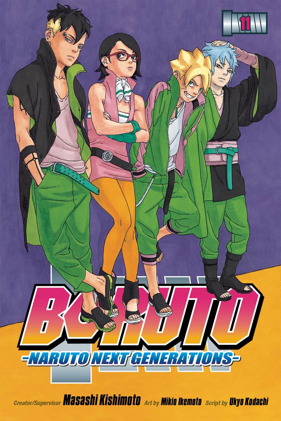 Boruto Naruto Next Generations Vol 11 GN