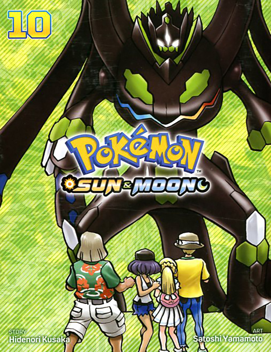 Pokemon Sun & Moon Vol 10 GN