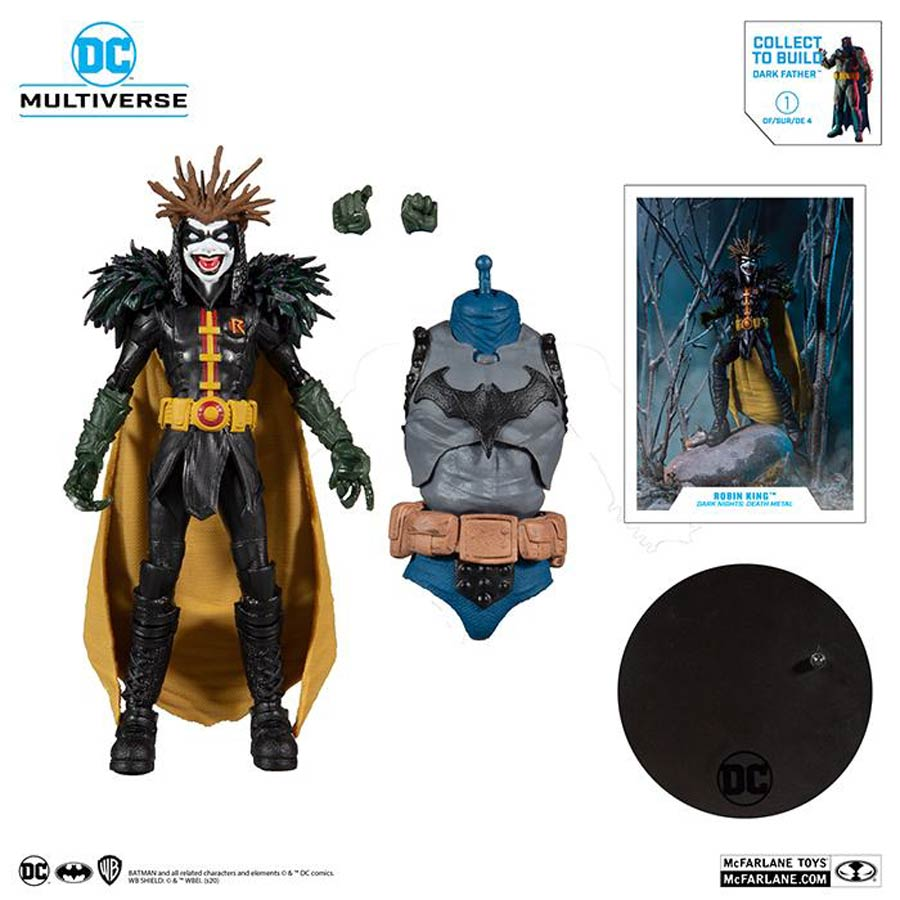 DC Collector Build-A-Figure Wave 4 Dark Nights Death Metal Robin King 7-Inch Scale Action Figure