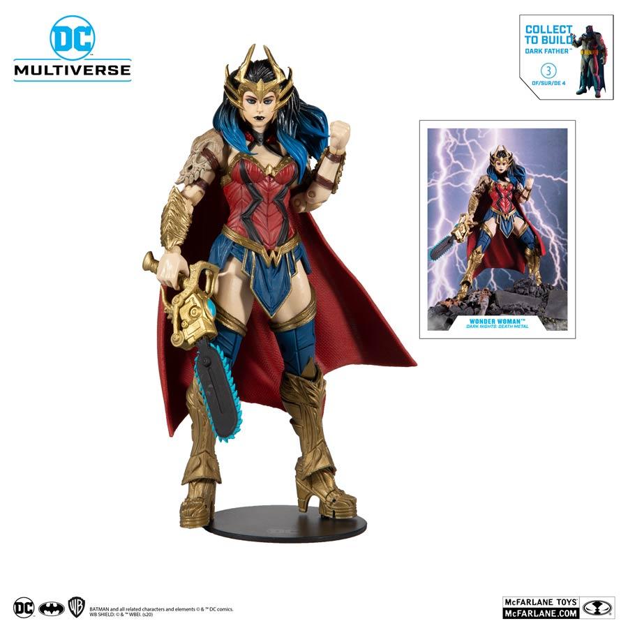 DC Collector Build-A-Figure Wave 4 Dark Nights Death Metal Wonder Woman 7-Inch Scale Action Figure