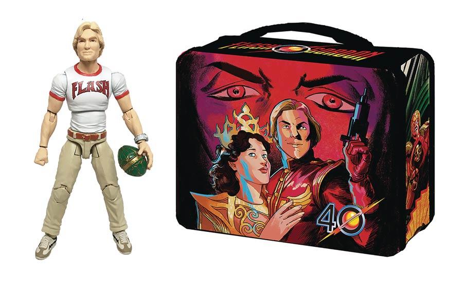 Flash Gordon Movie Hero H.A.C.K.S. Figure & Lunchbox
