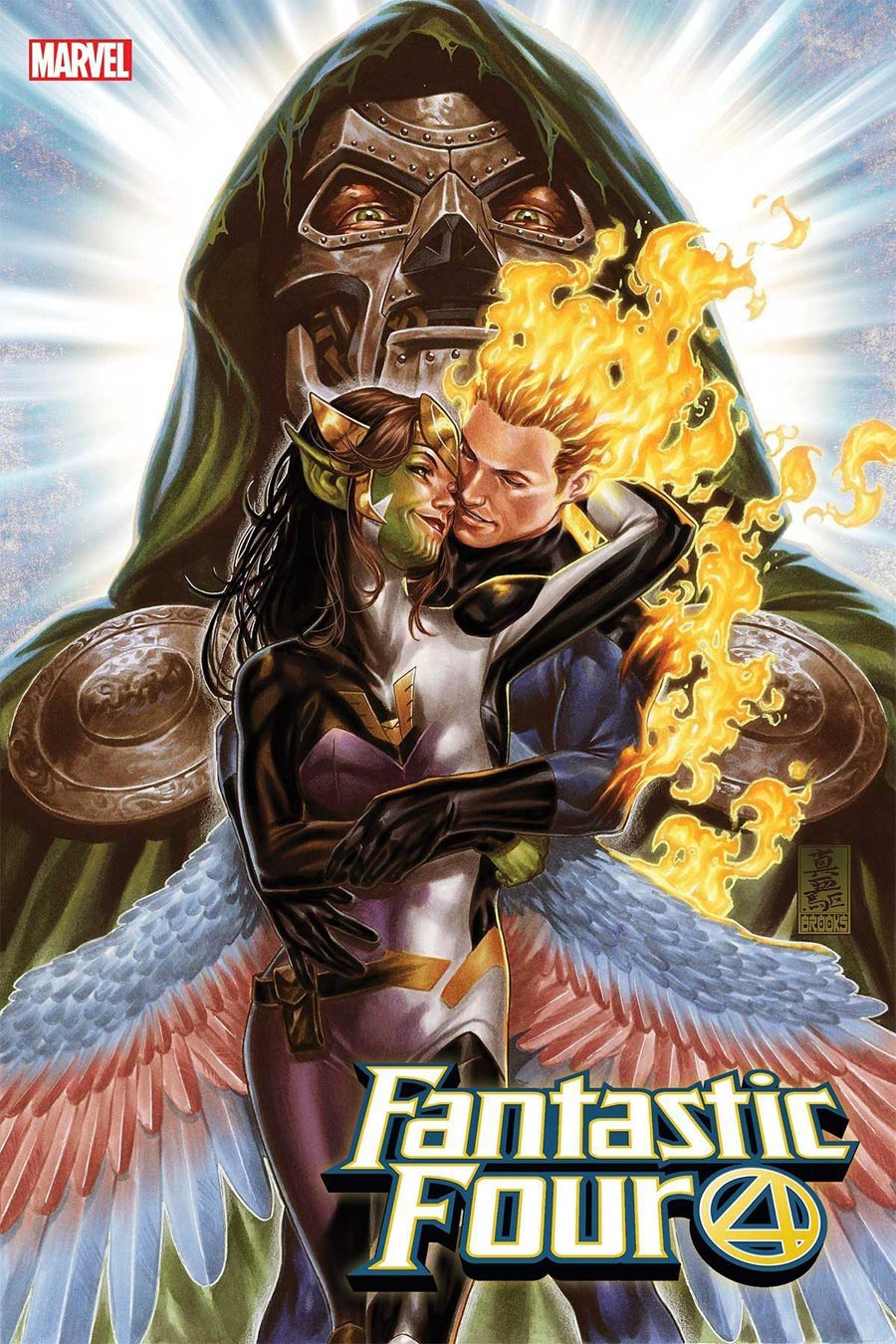 Fantastic Four Vol 6 #32 By Mark Brooks Poster