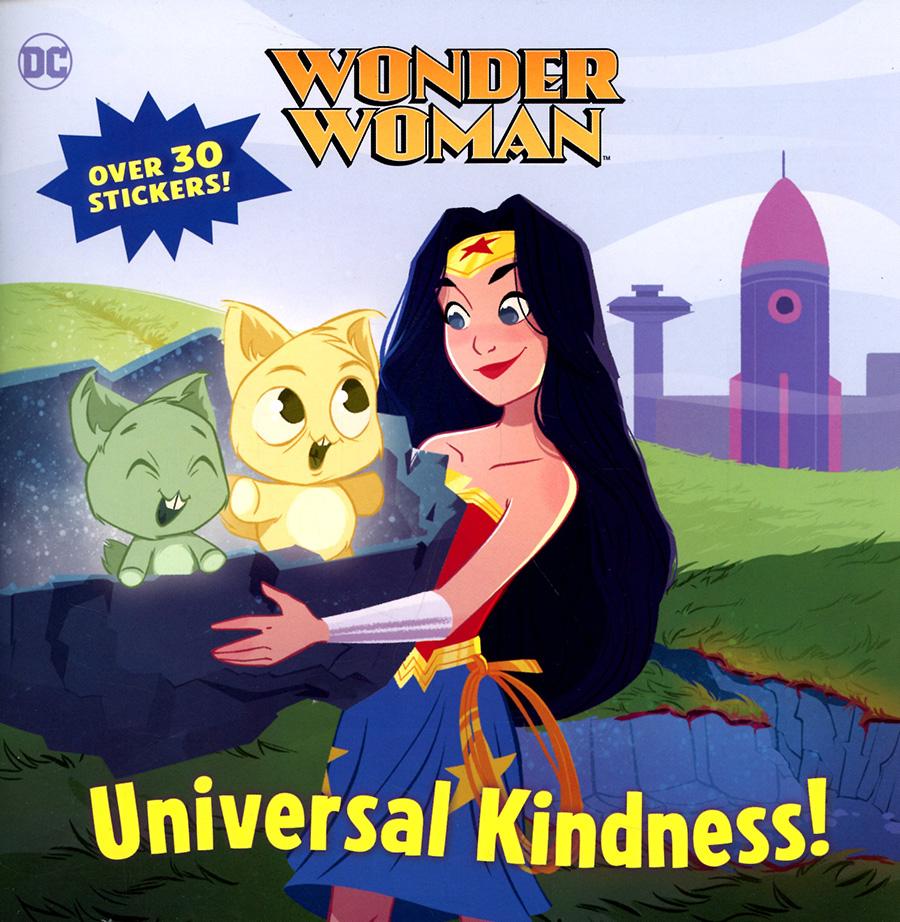 Wonder Woman Universal Kindness Picturebook TP