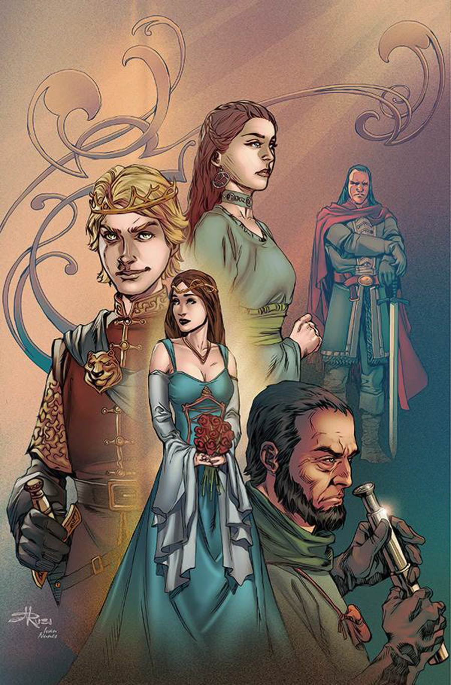 Game Of Thrones Clash Of Kings Vol 2 #14 Cover C Incentive Mel Rubi Virgin Cover