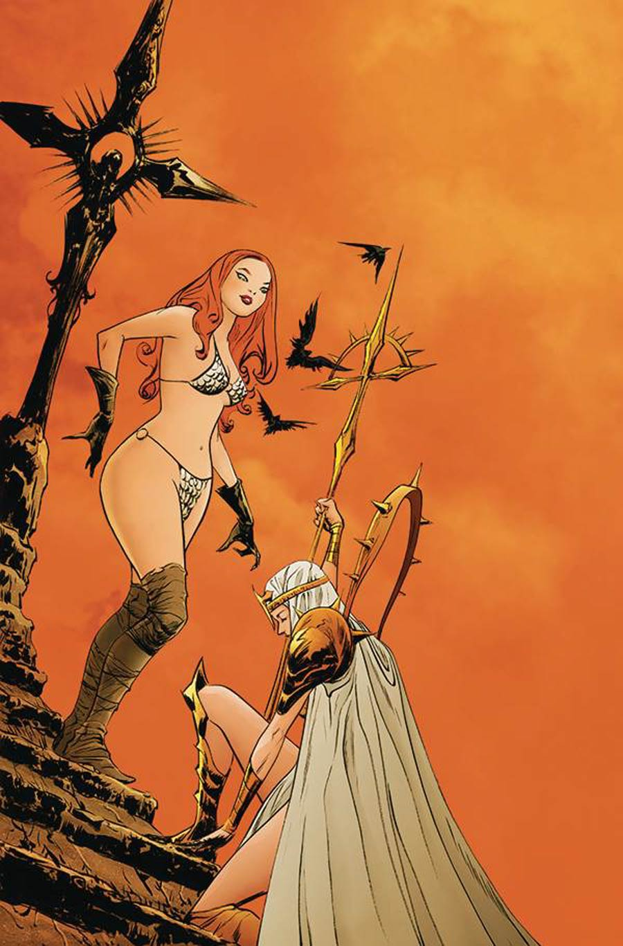 Sonjaversal #4 Cover X Limited Edition Jae Lee Virgin Cover