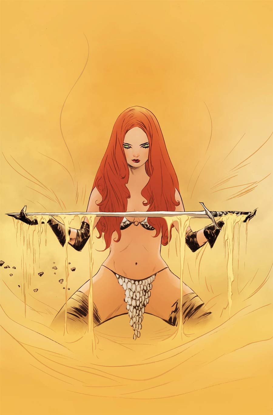 Red Sonja Vol 8 #27 Cover P Limited Edition Jae Lee Virgin Cover