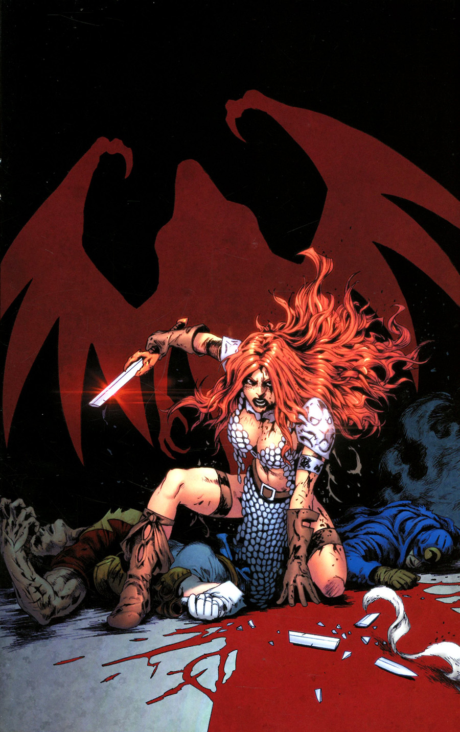 Red Sonja The Superpowers #5 Cover Y Limited Edition Jonathan Lau Virgin Cover